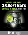 Baltimore Magazine 2012 Best Bars
